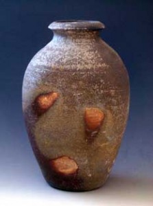 Anagama fired pot.