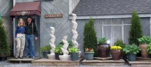 Entrance to Studio & Gallery