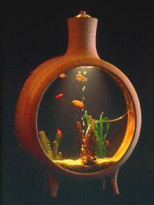 15 Gallon Standing Aquarium