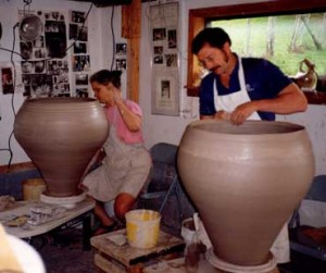 Throwing Giant Pots
