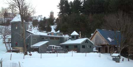 Pottery Studio in Winter