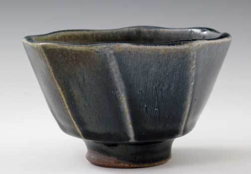 Wood Fired Tea Bowl, OLS-WF-197